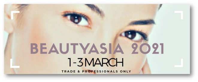 Beauty Asia 2021 Banner